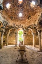 Historic Bath. Banys Arabs In Palma De Mallorca.