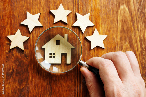Photo Property assessment concept
