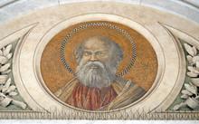 Saint Bartholomew The Apostle, Mosaic In The Basilica Of Saint Paul Outside The Walls, Rome, Italy