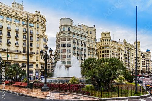 Valencia, Plaça de l'Ajuntament