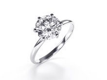 Solitaire Diamond Engagement R...