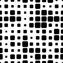 Halftone Seamless Abstract Bac...