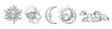 Sun And Moon Vintage Collectio...
