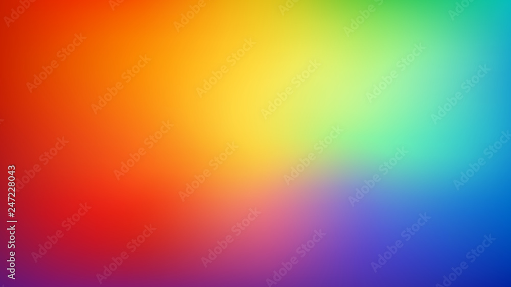 Photo  Smooth and blurry colorful gradient mesh background