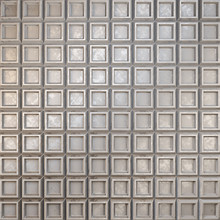 Surface Made Of Metal. Silver Grooved Surface. 3D Illustration.