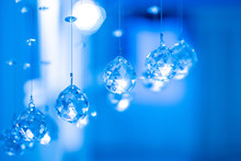 Glass Decorations. Crystal. Faceted Glass. Balls Of Crystal. The Decor.