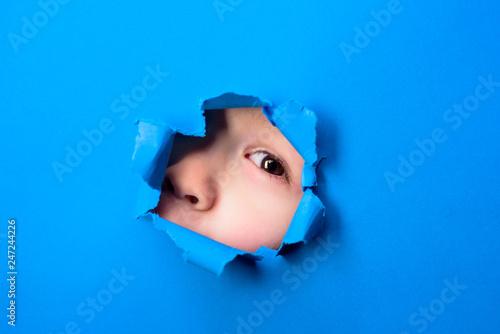 Fotomural  Through paper