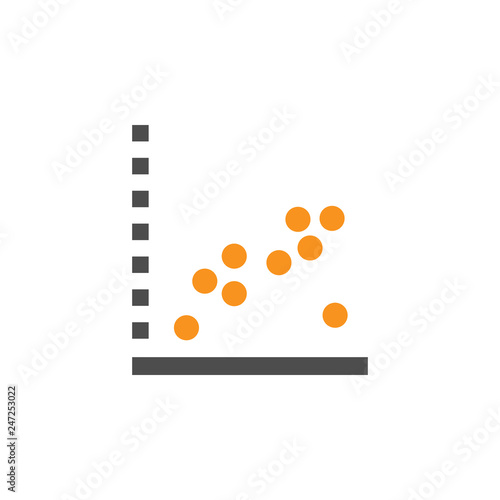 Photo Approximate and dots  icon