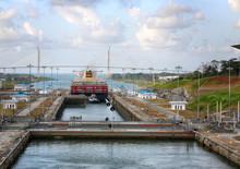 Panama Canal, Panama, January ...