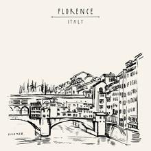 Ponte Vecchio Bridge In Floren...