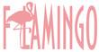 flamingo, pink flamingo, pink bird, bird, feathered, pink, animal, zoo, paradise, summer, word