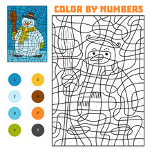 Color By Number, Snowman