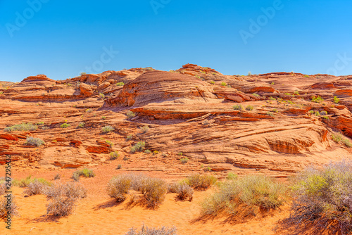 Keuken foto achterwand Centraal-Amerika Landen Horseshoe Bend is area landscape near of the Colorado River.