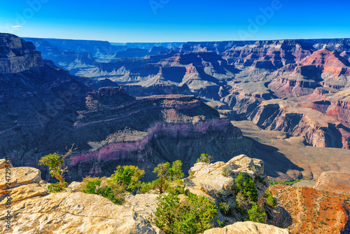 Foto op Plexiglas Centraal-Amerika Landen Amazing natural geological formation - Grand Canyon in Arizona, Southern Rim.