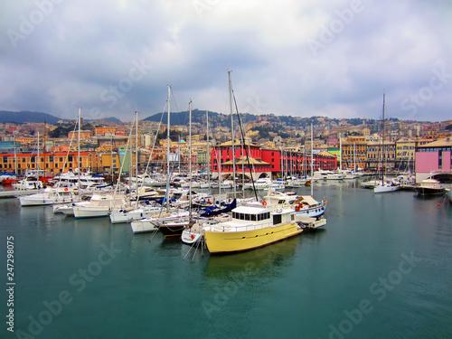 Foto op Plexiglas Poort Genoa, Italy