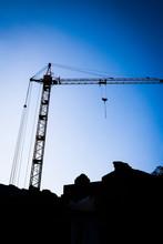 High Construction Crane Buildi...