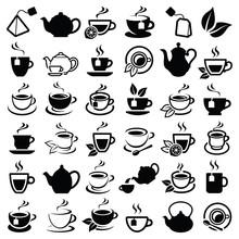 Tea Icon Collection - Vector O...