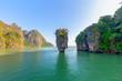 James Bond island near Phuket in Phang Nga bay in Thailand