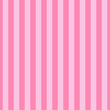Seamless Pattern Stripe Pink Color Vertical Pattern Stripe Abstract Background Vector Illustration