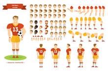Football Player Character Set ...