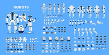 Robot Character Set For The An...