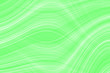 Leinwanddruck Bild - Green UFO neon background for packaging template or wallpaper. The texture of the marble fashion hue with stripes waves and divorces.