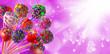 Leinwanddruck Bild - isolated image of delicious candy close-up