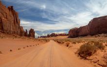 Monument Valley, Colorado Plateau Region,  Arizona – Utah, United States, Navajo Indian Reservation Territory, National Park