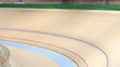 canvas print picture - Professional indoor cycling track