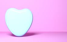 Sweet Candy In Shape Of Heart