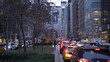 Typical street view in New York