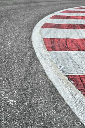 Fotografía  Race track detail