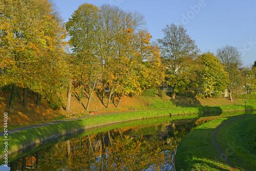 Fotografía  Belgium - historic Canal du Centre, UNESCO World Heritage Site