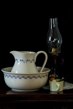 Antique Wash Basin And Pitcher...