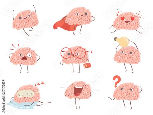 Fotografia Brain characters