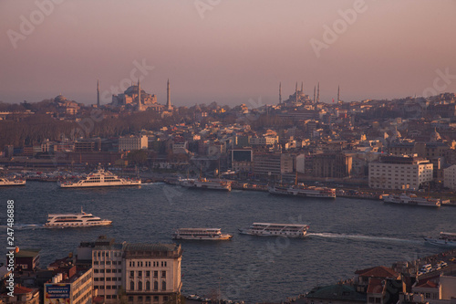 Fotografia  イスタンブール  トルコ  ボスポラス海峡