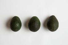 Row Of Avocados