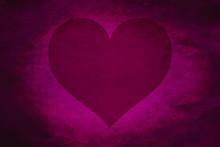 Dark Red Heart Love Tone Icon Texture Art Background Pattern Design Graphic