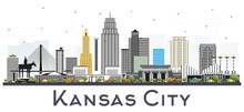 Kansas City Missouri Skyline W...