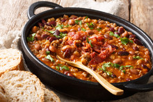 Crock Pot Beans With Ground Be...