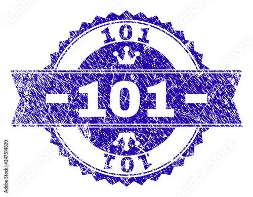 фотография  101 rosette stamp imitation with distress style