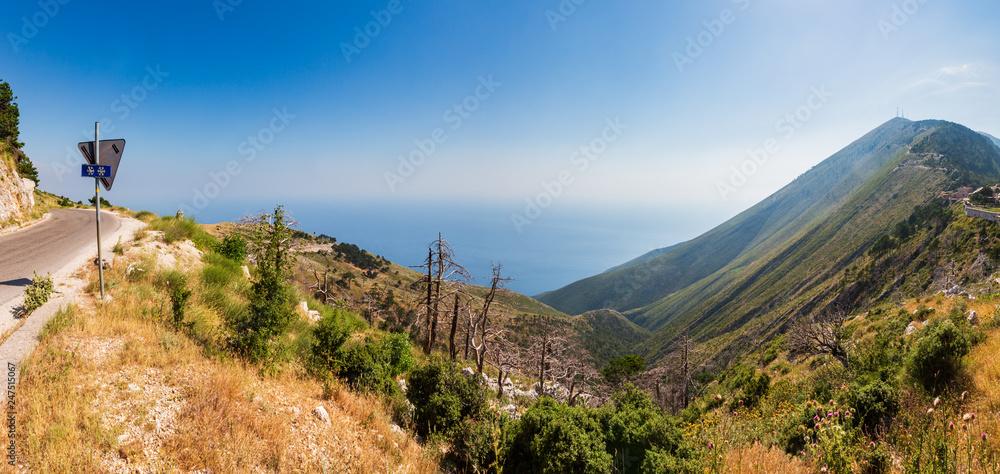 Fototapety, obrazy: Summer Llogara pass, Albania