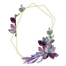 Succulent Floral Botanical Flo...