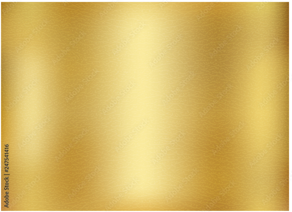 Fototapety, obrazy: Vector gold blurred gradient style background.