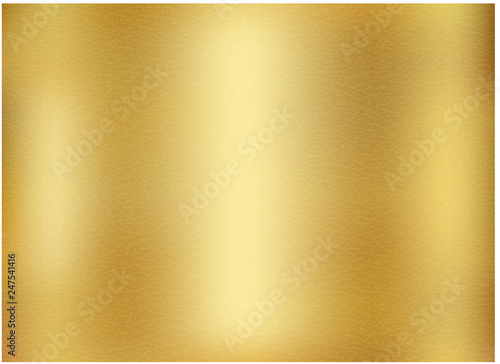 Fotografia Vector gold blurred gradient style background.