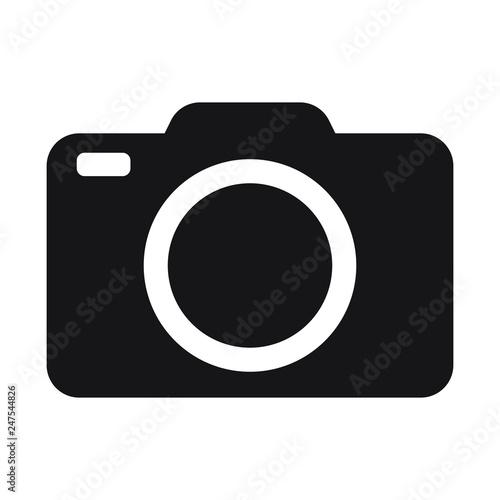 Obraz Photo camera vector icon - fototapety do salonu