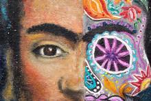 Detail Of A Painting, Portrait...