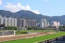 Racecourse In Hong Kong Sha Tin Fo Ta