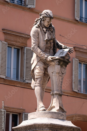 Photo Monument of Luigi Galvani, Italian physician, physicist and philosopher in Bolog
