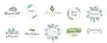 Elegant Logos, Wedding Monogra...